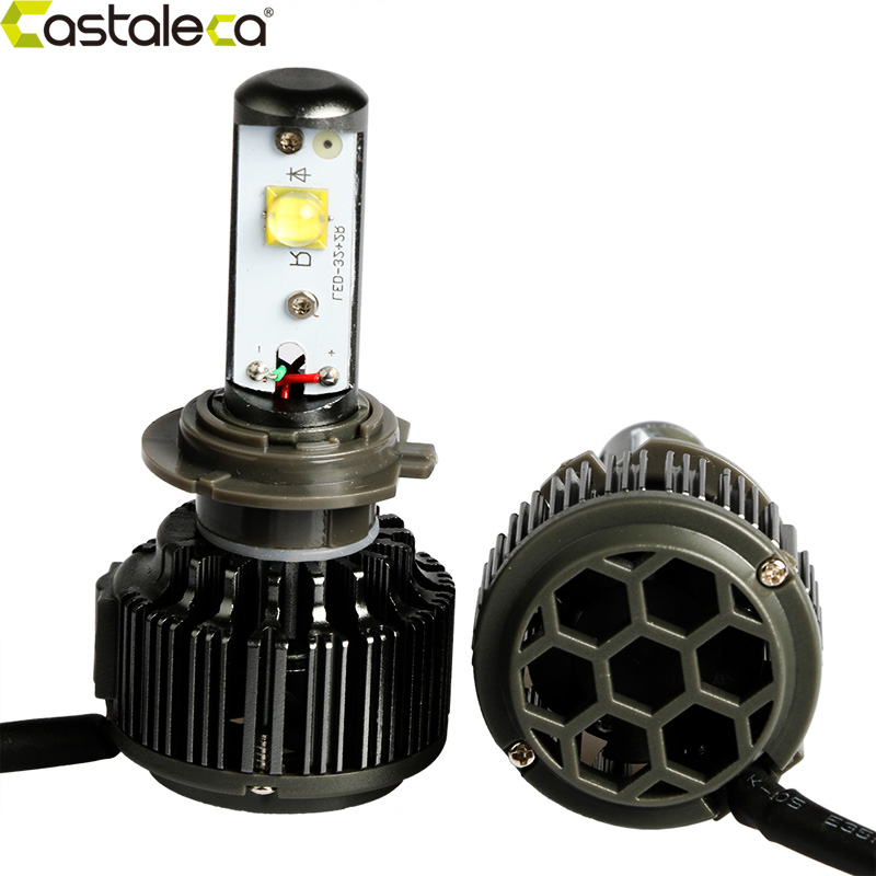 castaleca h7 h3 led car headlight 12v 24v led auto headlight bulbs set h4 h1 h8 h9 h11 9005 9006. Black Bedroom Furniture Sets. Home Design Ideas