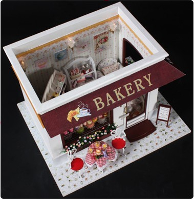 Diy Doll House Handmade Model Building Kits 3D Wooden Dollhouse Miniature Light Toy Birthday Christmas Valentineu0027s Day Gift-in Model Building Kits from Toys ... & Diy Doll House Handmade Model Building Kits 3D Wooden Dollhouse ... azcodes.com