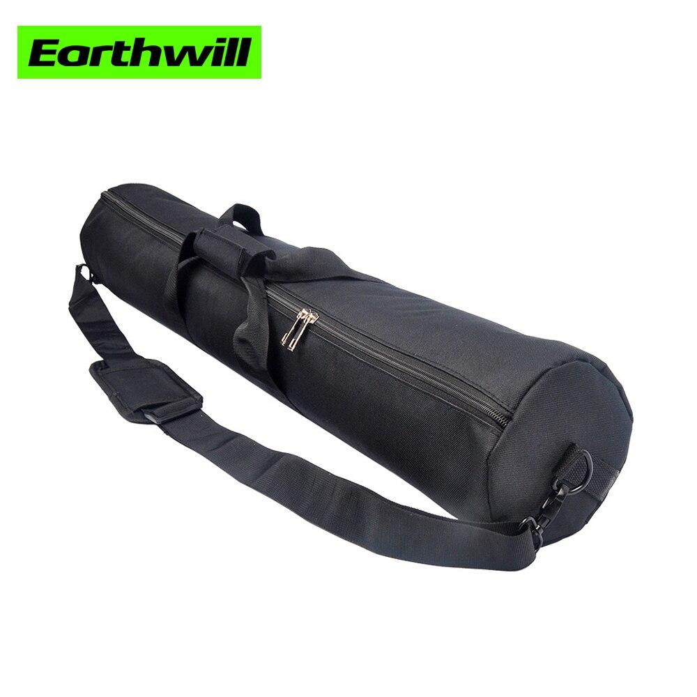 Engrosada bolsas para trípode 55-120 cm lámpara monopod paquete carril de deslizamiento paraguas cámara portátil hombro Oxford bolsa de tela