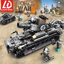 Building Blocks 957 Pcs 4In1 WW2 Germany Tank Army Toy Blocks Military Vehicles World War 2 Tank Figures Toys for Children new 1205pcs military theme tank hummer building blocks m1a2 abrams sep toy tank caterpillar hummer models toys for children