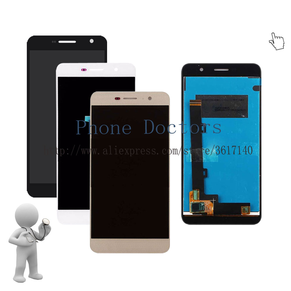 5.0'' Full LCD DIsplay + Touch Screen Digitizer Assembly Replacement For Huawei Honor 4C Pro TIT-L01 ; New ; 100% Tested