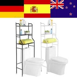 3-nível de Ferro Higiênico Titular Sobre a Prateleira Do Banheiro de Toalha Rack de Armazenamento Organizador para Shampoo Loja/Toalha etc Acessório