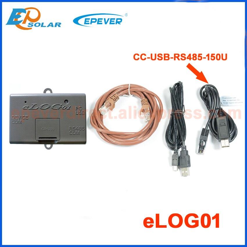Elog01 записывает рабочие данные солнечной системы, соответствующие солнечному контроллеру, подключается к usb-кабелю MT50 и PC - Цвет: elog01 with USB