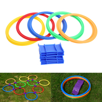 Preschool Teaching Aid Sport Toy Hopscotch Jump To The Grid Children Sensory Integration Training Outdoor Toys