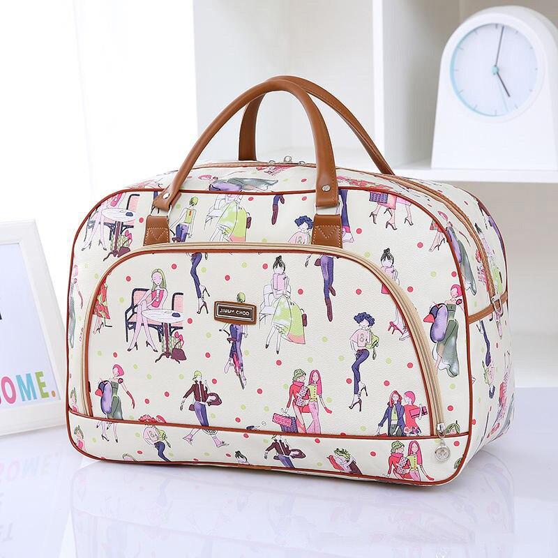 High Quality Waterproof Travel Bag Fashion Women Men Large Duffle Bag Travel Organizer Ladies Handbag Packing Cubes Luggage Bags