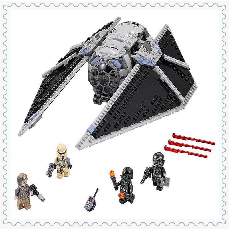 543Pcs Star Wars TIE Striker Model Building Block Toys LEPIN 05048 Educational Figure Gift For Children Compatible Legoe 75154 lepin 16008 cinderella princess castle city model educational building block kid toys compatible legom 71040 for children gift