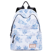 Canvas Travel Laptop Backpacks Durable Woman College School Bag Water Repellent Daybags Maple leaf Prited Student Bookbag цена