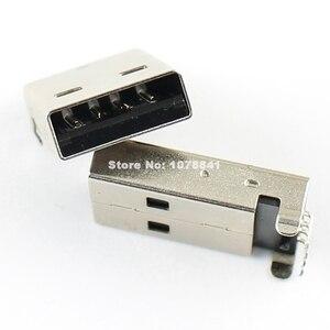 Image 5 - 100 pièces par Lot USB Type A 4 broches mâle Angle droit DIP connecteur bricolage