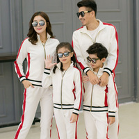 Family Look Zipper Active Family Clothing Patchwork Family Matching Outfits Mother and Daughter Clothes Girls Baseball Jacket