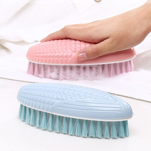yooap Household soft wool laundry brush multi-function creative corn plastic household cleaning