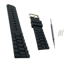 20mm 22mm Silicone Rubber Watchband for For Timex For Iwc Fo