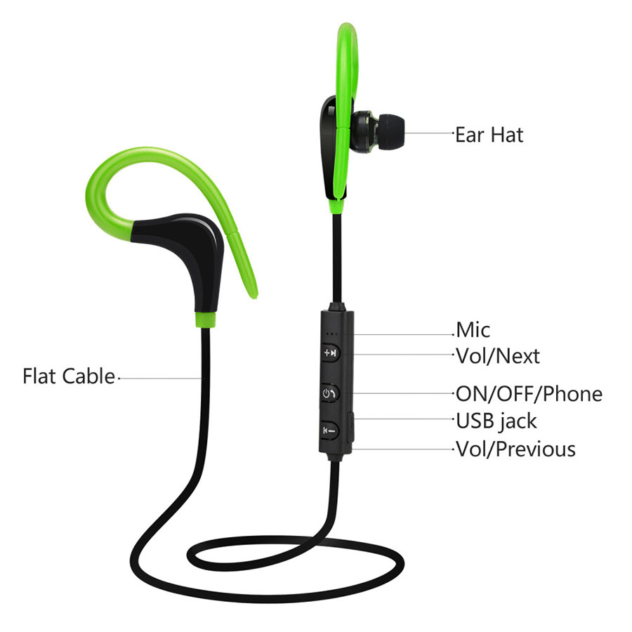 BT-1 Bluetooth Earphone Wireless Headphones Mini Handsfree Bluetooth Headset With Mic Hidden Earbuds For iPhone all Smartphone 011