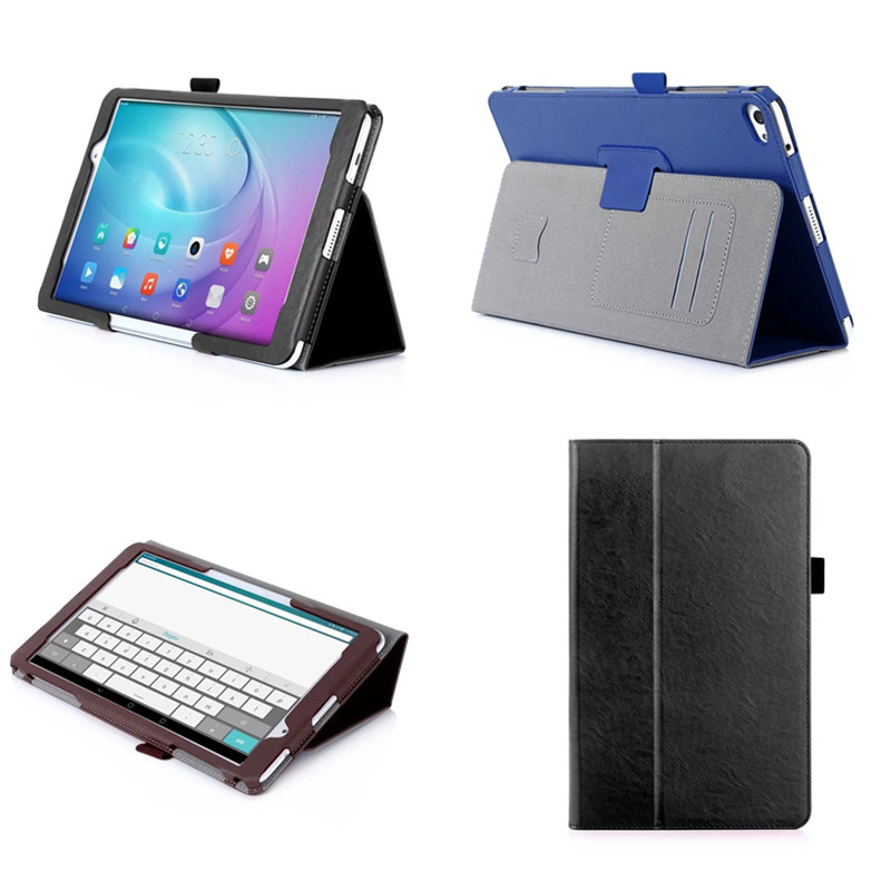 5W  Luxury Hand Strap Stand Book Cover PU Leather Case For Huawei MediaPad T2 10.0 Pro FDR-A01W / FDR-A03L 10.1'' Tablet PC luxury pu leather flip case stand cover for huawei mediapad t2 10 0 pro fdr a01l fdr a01w fdr a03l a04l full protection covers