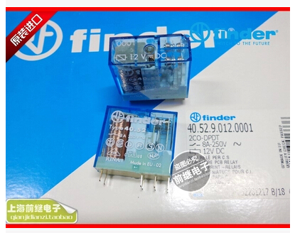HOT NEW relay 40.52.9.012.0001/40.52 12VDC 40.52-12VDC 8A 250V finder DIP8 5pcs/lot hot new relay 8980809780 hf3511 12 l 1513006728 1pcs lot