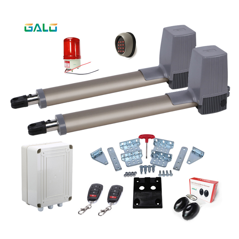 300kg Swing Gate Opener/Electrical gate Operators motors linear actuator with remote control kit optional