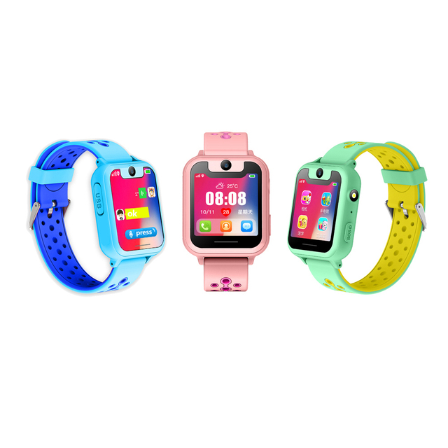 S6 Kids Smart watch for Children, SOS Call, Location Finder/Tracker, Anti Lost-child Monitor.