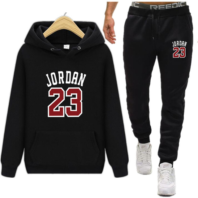 6043cac2 New 2019 Brand New Fashion JORDAN 23 Men Sportswear Print Men Hoodies  Pullover Hip Hop Mens tracksuit Sweatshirts Clothing