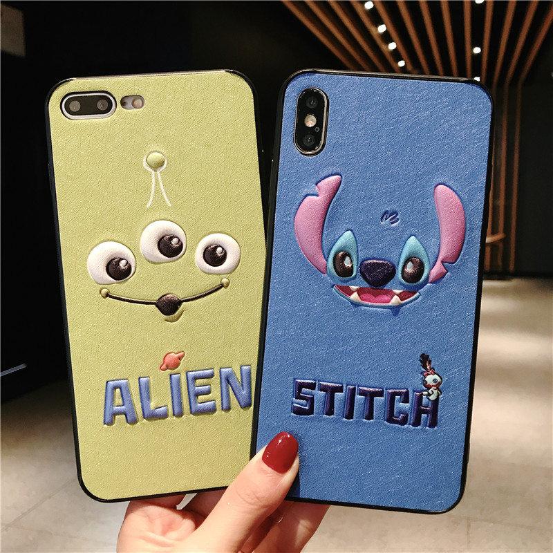 iPhone X Cute Cases 3D Cartoon Eyes