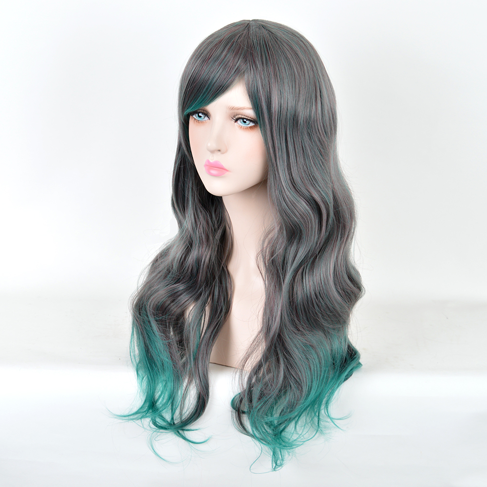 encaracolado perucas sintéticas para mulheres cabelo espiral