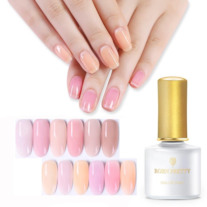 Aliexpress.com : Buy BORN PRETTY 6ml Pink Nail Polish
