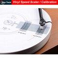 LP Vinilo Velocidad Medidor Escalador/Aguja Giradiscos de Calibración Calibración de Doble cara, platine vinyle disque
