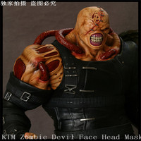 New Movie Angry Zombie Demon Full Head Mask Latex Devils Scary Mask Halloween Prank Prop For
