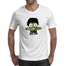Big Eye Green Giant T Shirt Funny Design Rock T-shirt Pop Skate Brand Unisex Tee