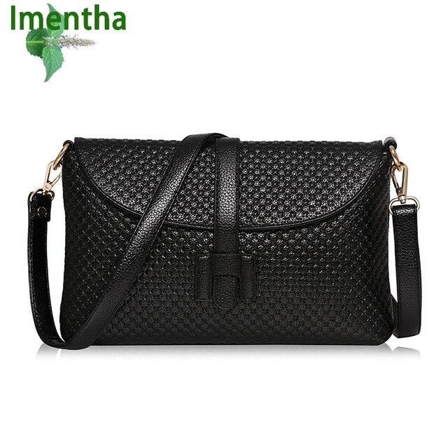 zwarte handtassen lederen bag vrouwen envelop vrouwen Big clutch OqpwddP