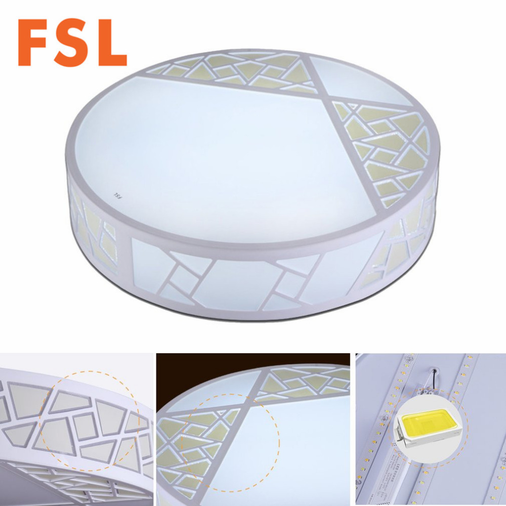 hight resolution of fsl modern led round ceiling lamp energy saving colors adjustable living room bedroom lighting household supplies high quality