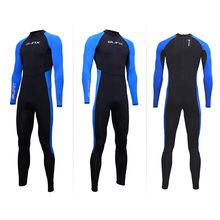 SLINX Unisex Full Body Diving Suit UV Protection Men Women Scuba Diving Wetsuit Swimming Surfing Snorkeling Spearfishing Wetsuit цена