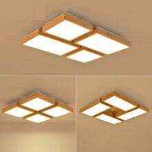 Neue Kreative EICHE Moderne Led Deckenleuchten Fr Wohnzimmer Schlafzimmer Lampara Techo Holz Deckenleuchte Leuchten Luminar
