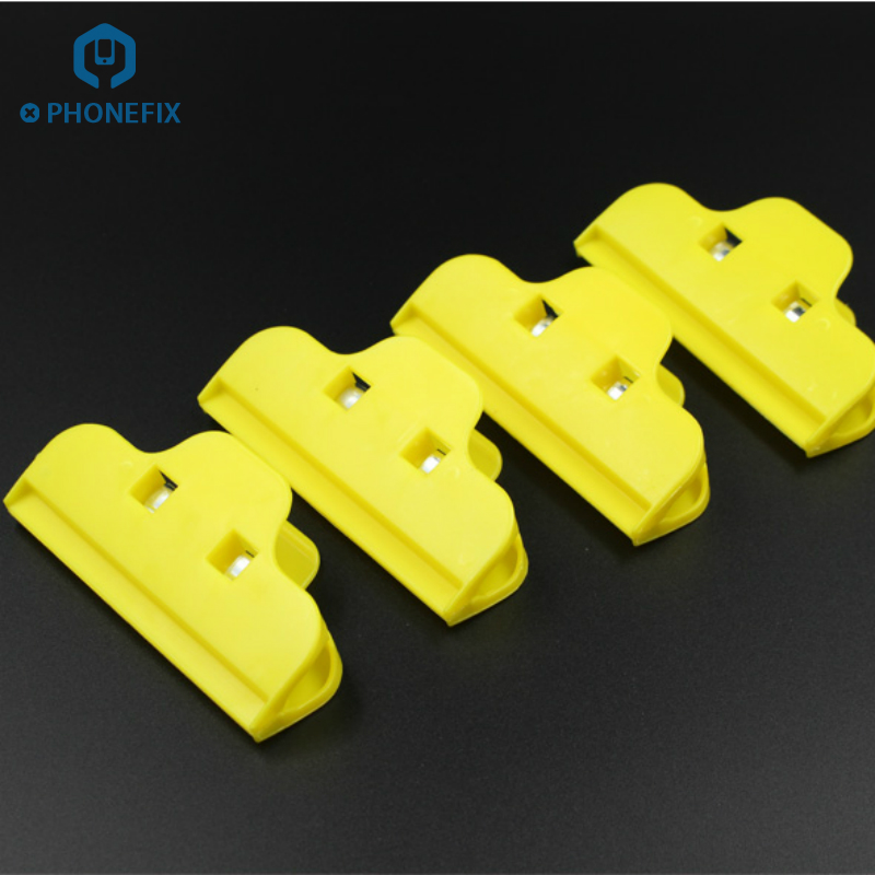PHONEFIX Phone Screen Fastening Clamp Plastic Clip Fixture Holding Repair Tools for iPhone Repair Mobile Phone Fasten Clip