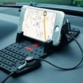 Remax Автомобиля Регулируемый Кронштейн Разъем Магнитный Держатель Телефона Крепления Зарядки С USB Кабель Для iPhone iPad Android