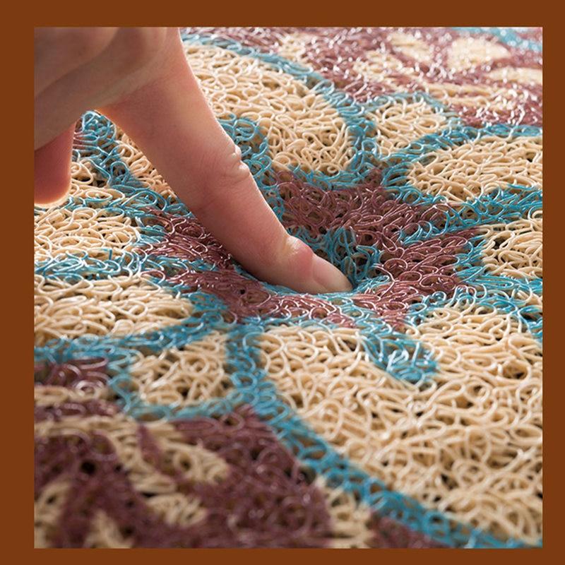 Vente chaude motif géométrique porte tapis tapis de sol pour porche tapis anti-dérapant paillasson décor à la maison couloir entrée tapis de sol - 6