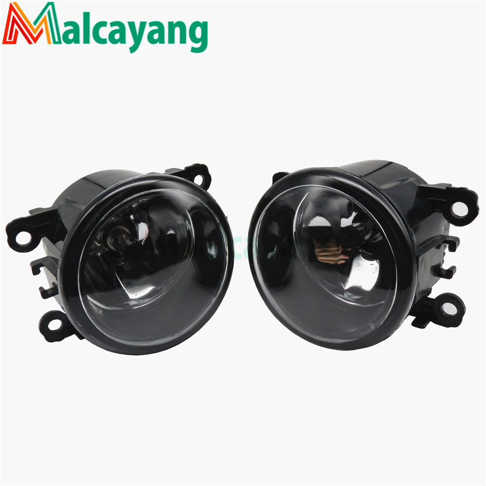 Car Light Sources Fog Lamps Car Styling Fog Lights Halogen 1SET 35500-63J02 12V 55W H11 For Renault MEGANE 2 estate 2002-2015 for nissan primera estate wp12 2002 2015 car styling led light emitting diodes drl fog lamps