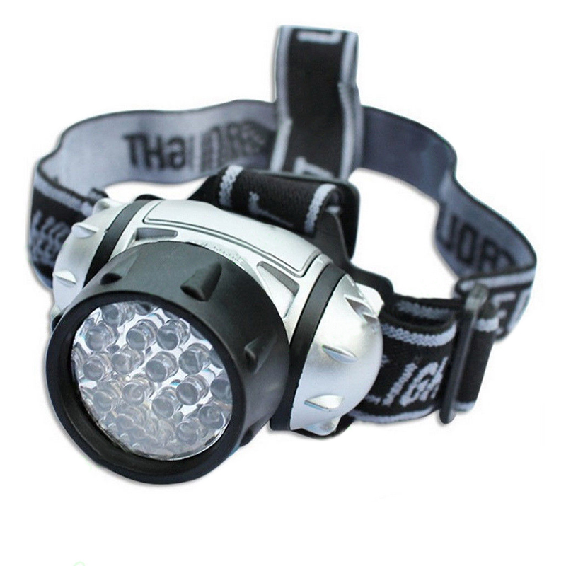 19 LED Green Head Light Torch Hydroponics Plant Grow Room Headlamp 4 Modes