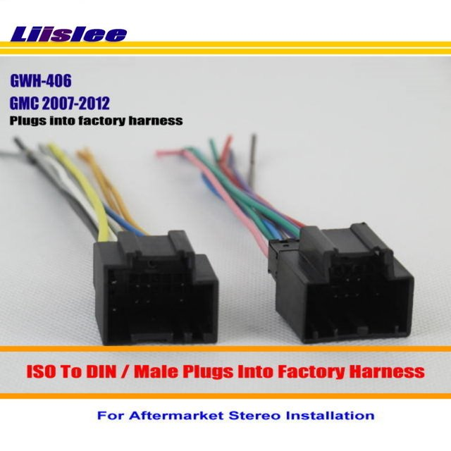 Liislee For GMC Acadia Savana Van Sierra Yukon Male ISO Radio Wire Cable Wiring Harness Car_640x640 liislee for gmc acadia savana van sierra yukon male iso radio wire
