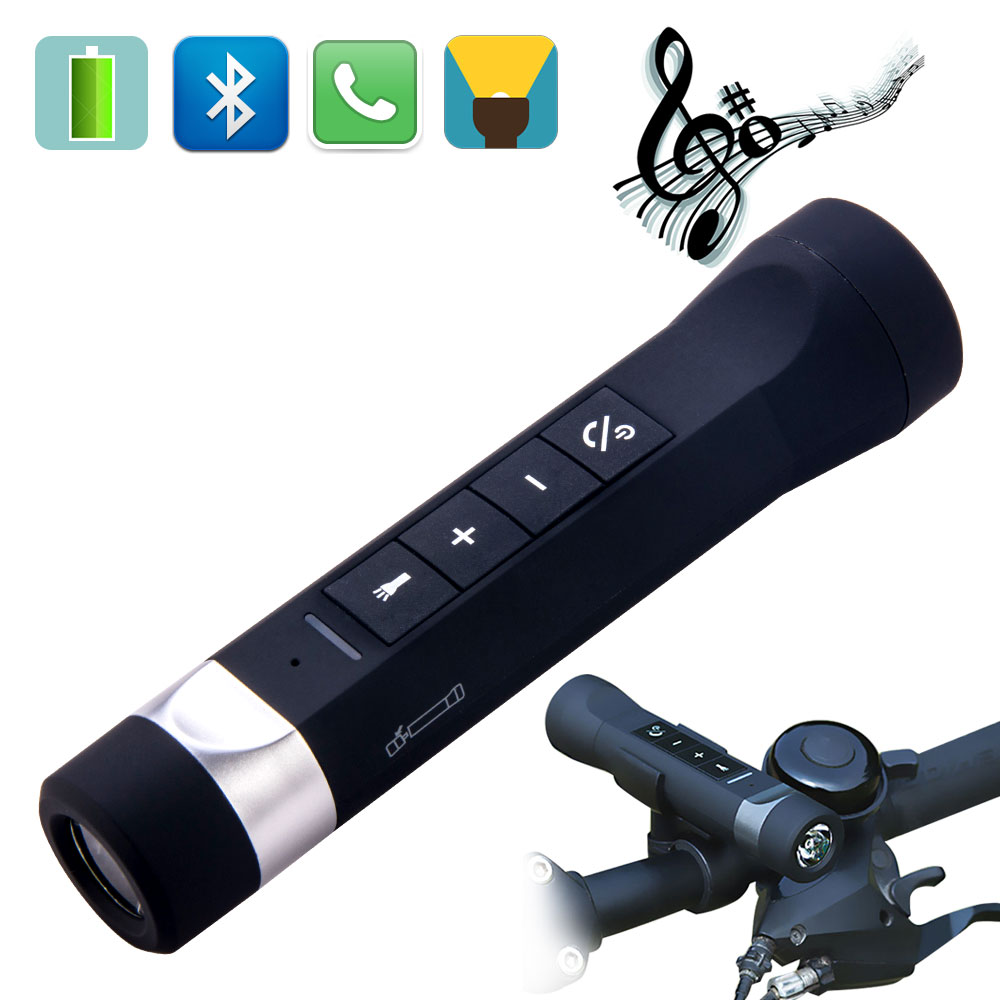 Outdoor Riding Cycling Multifunction Music Torch Bluetooth Ss