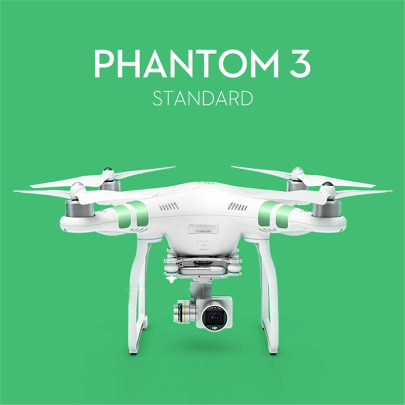 Original DJI Phantom 3 Standard GPS FPV With 3 Axis Gimbal 2.7K HD Camera RC Quadcopter With Remote Control RTF VS Mavic Spark pgy dji phantom 4 3 professional accessories lens filter 6pcs bag nd4 nd8 mcuv cpl cover gimbal camera quadcopter drone part