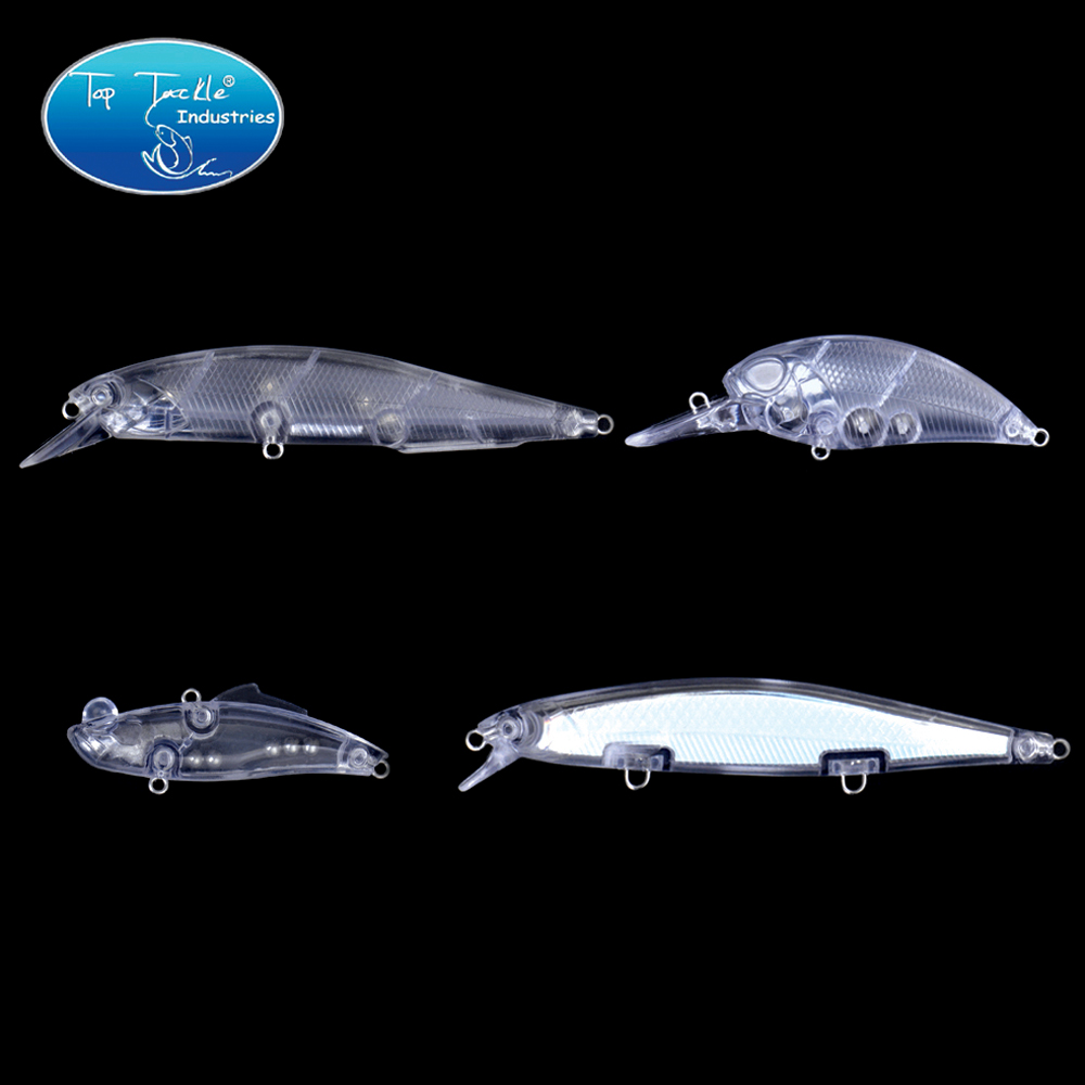 Unpainted <font><b>Lure</b></font> <font><b>Blank</b></font> <font><b>Lure</b></font> for DIY Cranks Minnow Vib Insect Fishing <font><b>Lure</b></font> 5pcs/lot Jerk Bait image
