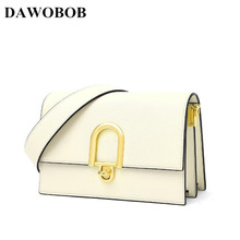 DAWOBOB Women Messenger Bags High Quality Cross Body Bag Split Leather Small Female Shoulder Bag Flap Handbags Bolsas Feminina women messenger vintage bags high quality cross body bag pu leather mini female solid shoulder bag handbags bolsas feminina