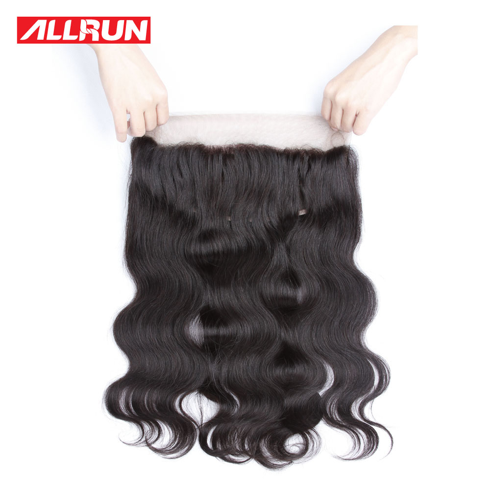 ФОТО 360 Lace Frontal Closure Pre Plucked 8A Brazilian Body Wave Lace Band Frontals With Baby Hair 360 Lace Virgin Hair With Strap