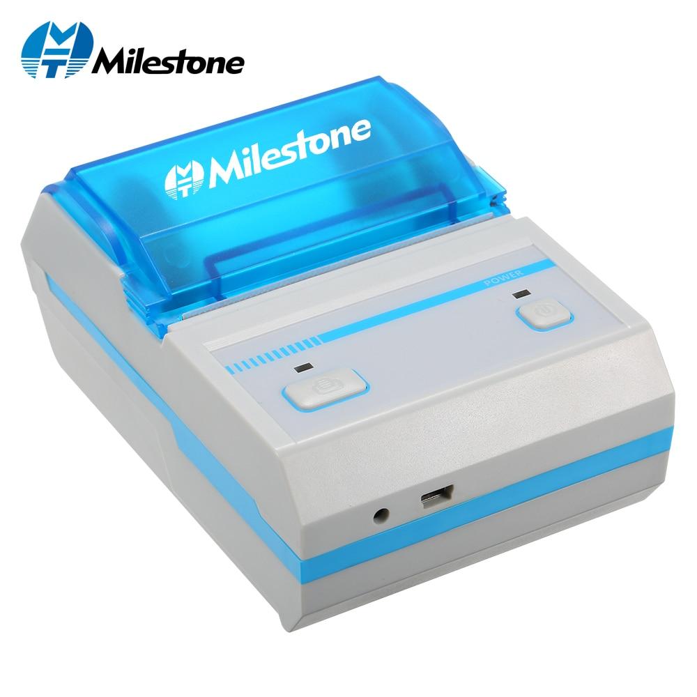 Étape imprimante d'étiquettes imprimante thermique pour code-barre MHT-L5801 Avec App Android IOS mini bluetooth sans fil Bar Code étiqueteuse