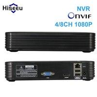 Full HD 4Ch 8Ch Mini NVR Real P2P CCTV NVR 1920 1080P VGA HDMI Ouput ONVIF