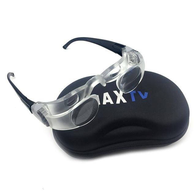 e54e7b322 Binóculos de pesca Óculos Lupa Lupa de Ampliação Dos Olhos Óculos MAXTV  Presbyopes Distância Tela de