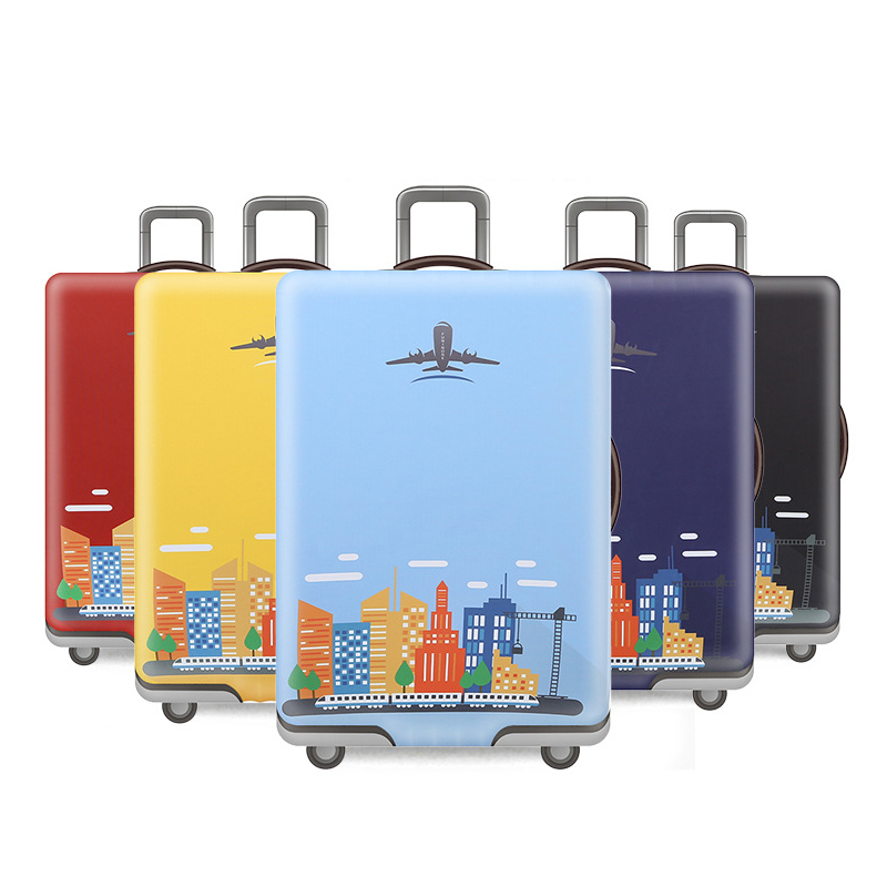Cases Protective-Cover Luggages Trolley Waterproof Elastic Dust Skythickened Simple