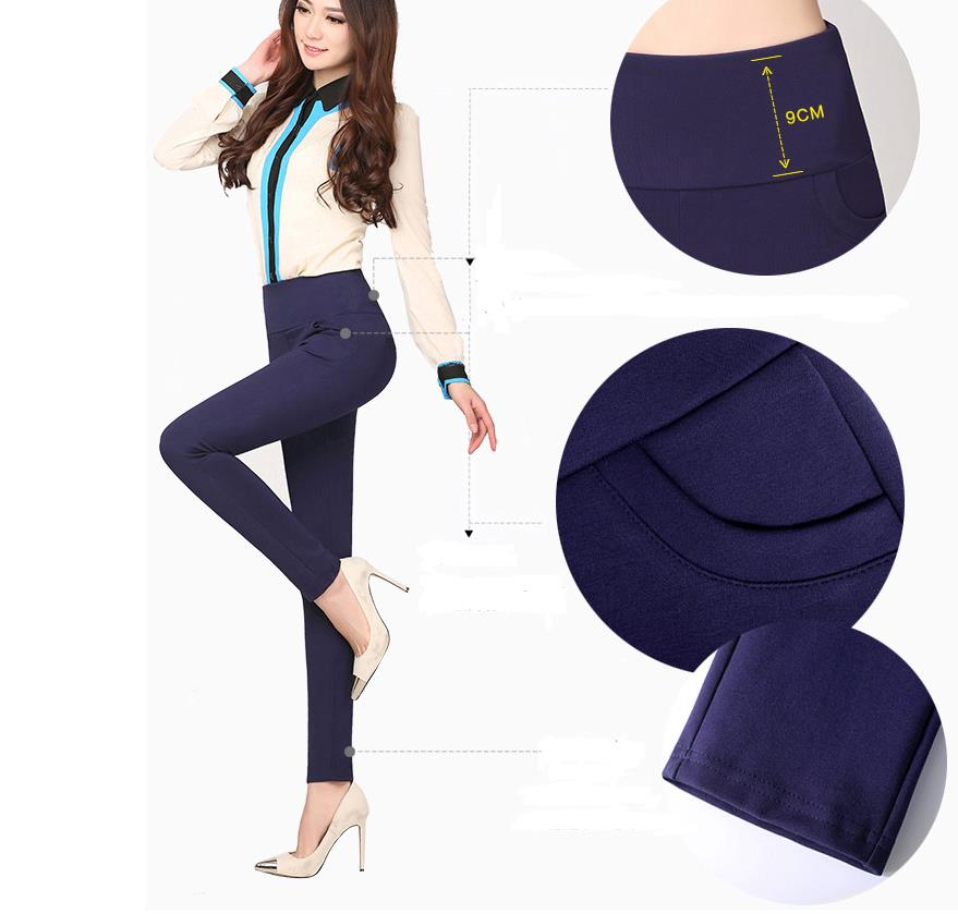 Hot! winter Thickening thick Velvet Products Elastic stretch pants - Women's Clothing - Photo 5