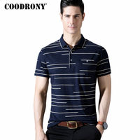 COODRONY Short Sleeve T Shirt Men 2018 Spring Summer T Shirt Slim Fit Cotton Tee Shirts