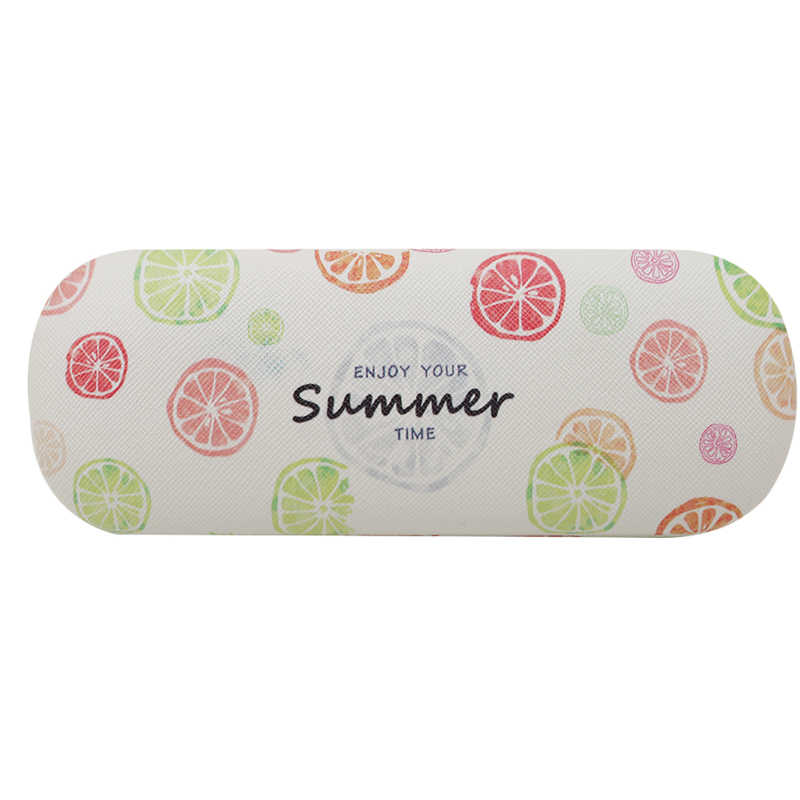 Cute fruite sunglasses pouch for women and men home storage portable reading glasses box hard glasses case for glasses