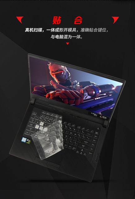 """Laptop przezroczysty tpu klawiatury ochraniacze etui na asus ROG STRIX HERO III G531GW G531GT G531GU G531GV 15.6"""""""